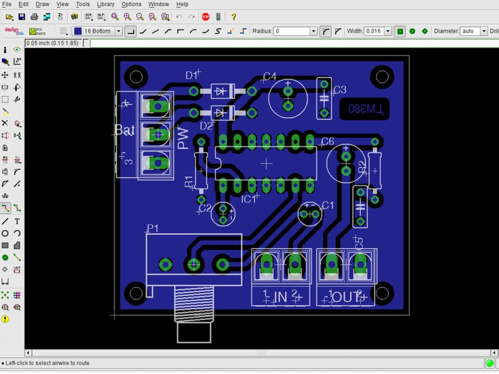 CadSoft EAGLE Learn PCB Design Software V7 - .EDU - 1 User ID: 2265 ...
