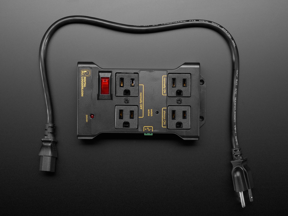 Controllable Four Outlet Power Relay Module version 2