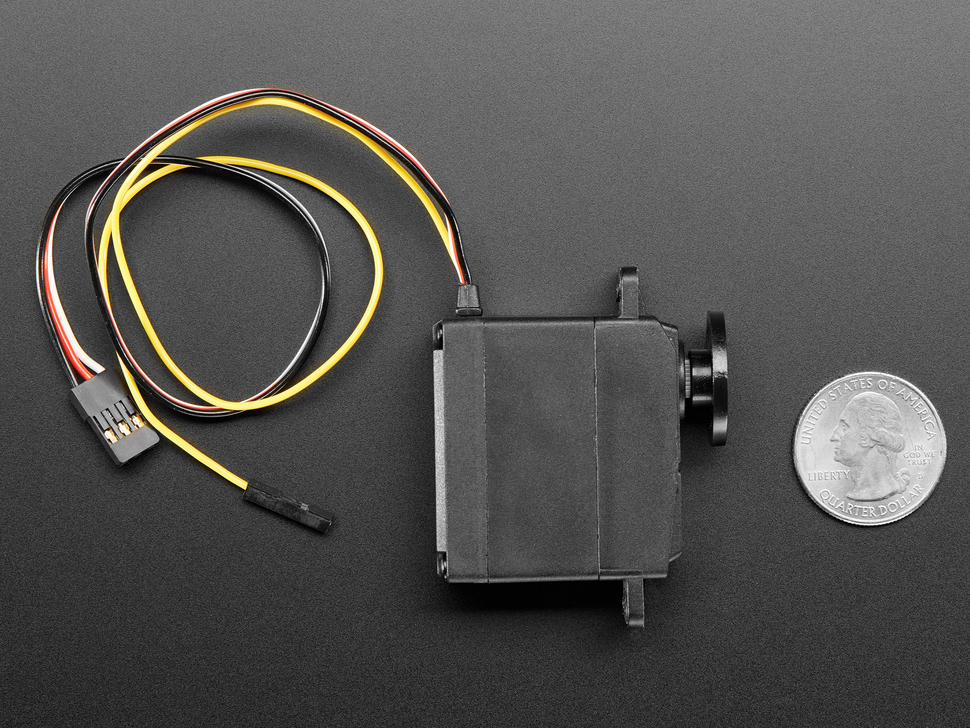 Feedback 360 Degree - High Speed Continuous Rotation Servo