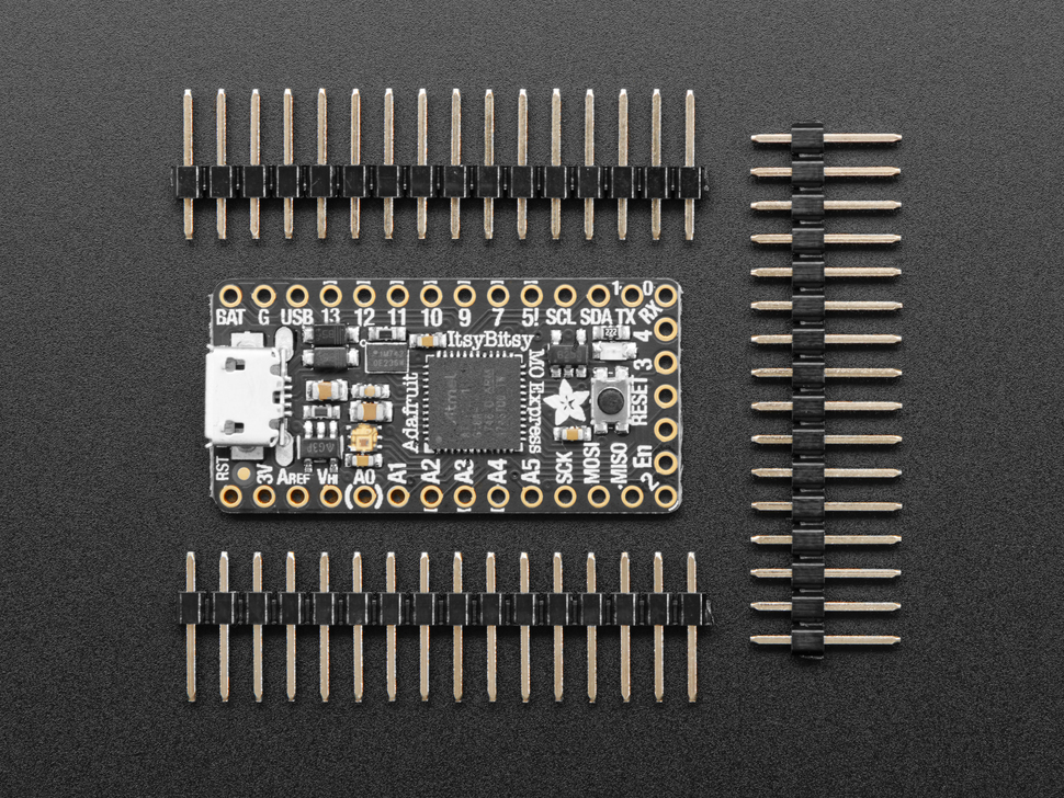 Adafruit ItsyBitsy M0 Express - for CircuitPython & Arduino IDE ID: 3727 -  $11.95 : Adafruit Industries, Unique & fun DIY electronics and kits