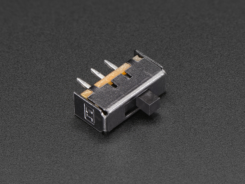 Breadboard-friendly SPDT Slide Switch ID: 805 - $0.95 : Adafruit ...