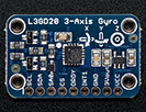 L3GD20 (L3G4200 Upgrade) Triple-Axis Gyro Breakout Board