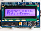 Adafruit RGB Positive 16x2 LCD+Keypad Kit for Raspberry Pi