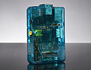 Pi Shell - Blue Raspberry Pi Model A or B Case