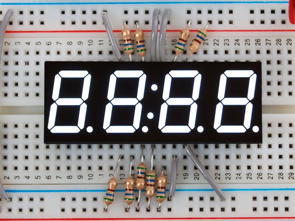 ic number display The best known type of alphanumeric indicator is the seven-segment display,   in reality, the number of ic-to-display connections can be greatly reduced by.