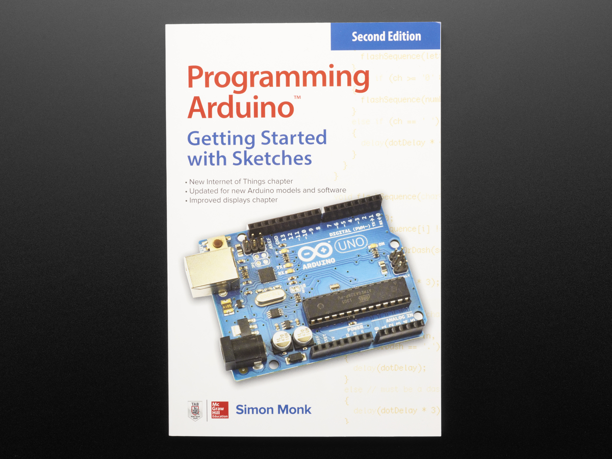 Books Adafruit Industries Unique Fun Diy Electronics And Kits Physics Practical Electrical Electronic Circuits Revision 2 Programming Arduino By Simon Monk Second Edition