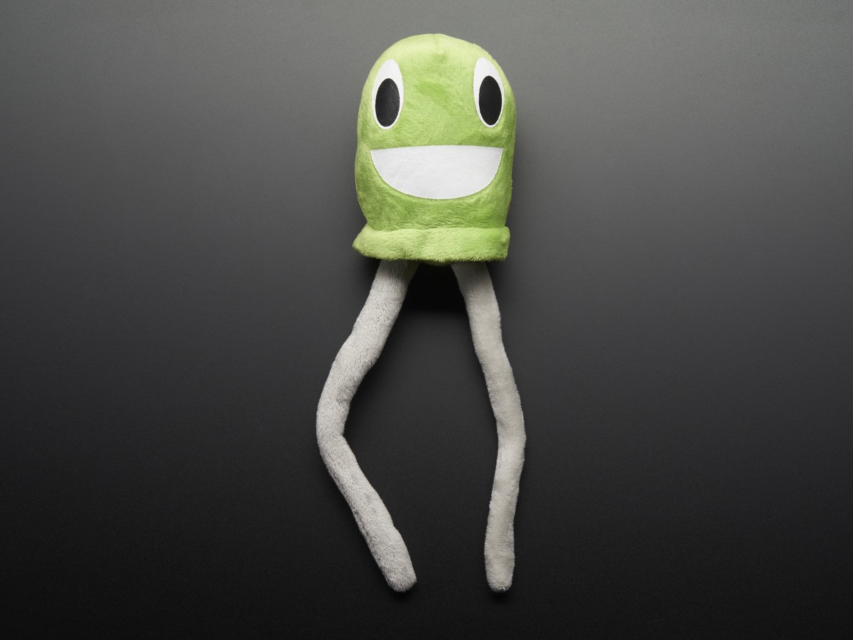 Gus The Green Led Circuit Playground Plushie Id 1026 995