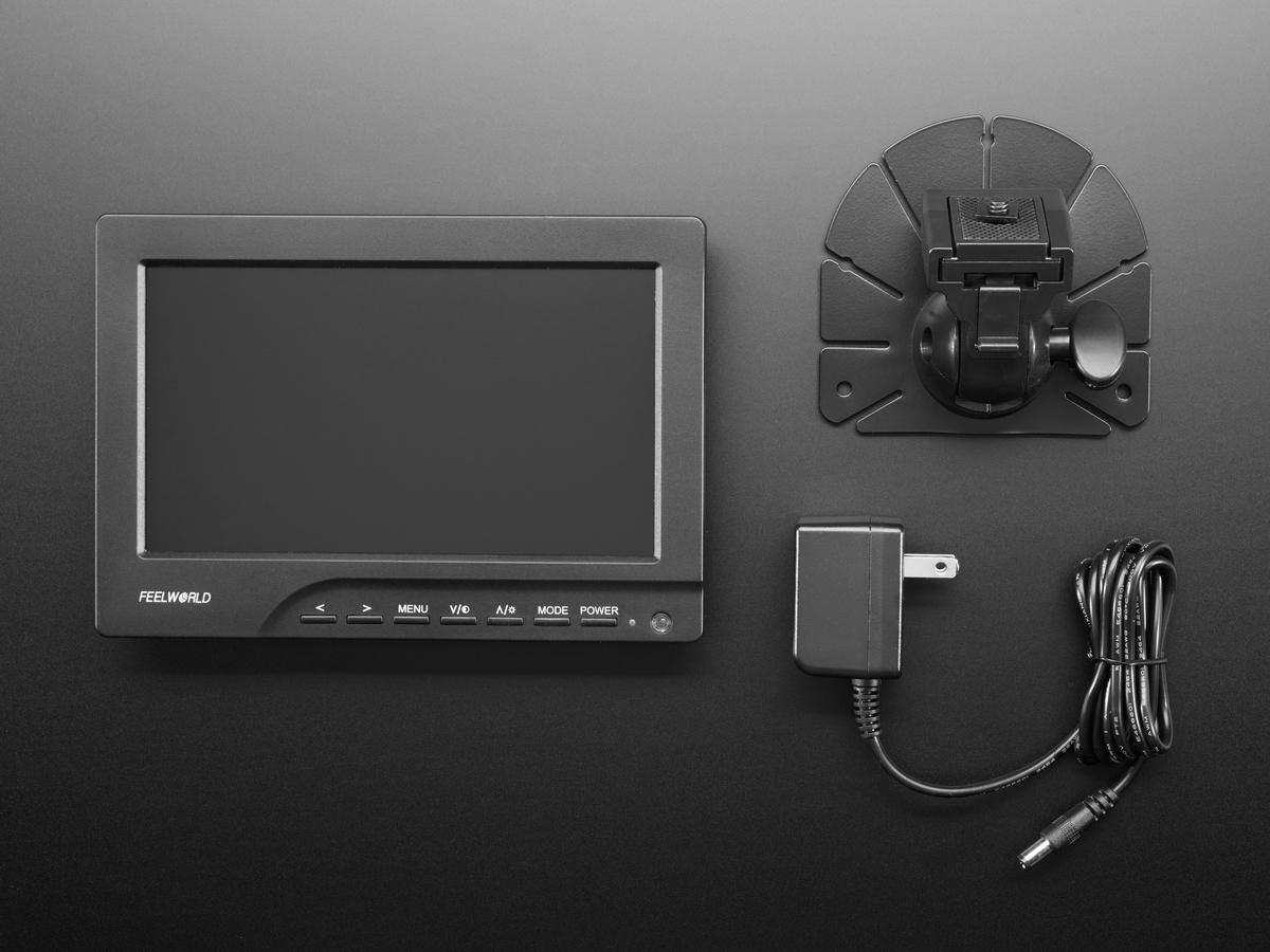 HDMI 4 Pi - 7 Display 1280x800 (720p) IPS - HDMI/VGA/PAL