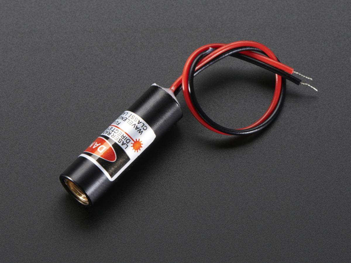 Line Laser Diode 5mw 650nm Red Id 1057 895 Adafruit Driver Circuit 1 Cross
