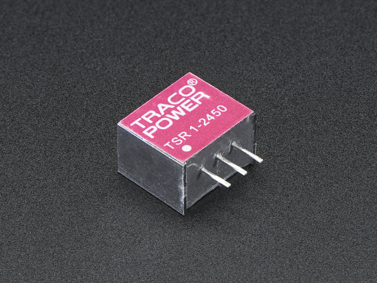 Mini Dc Step Down Buck Converter 5v 1a Output Tsr12450 Id To 24v Power Supply Circuit