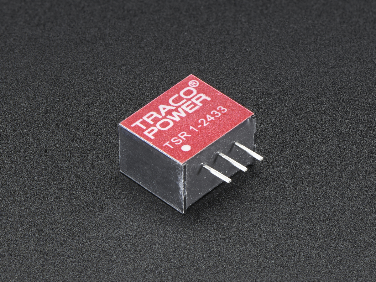 Mini Dc Step Down Buck Converter 33v 1a Output Tsr12433 Current Multiplier For 78xx Regulator