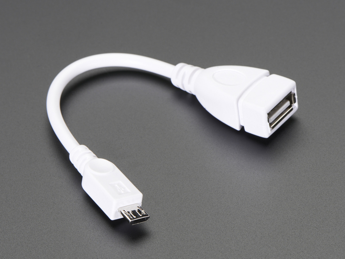 Usb Otg Host Cable Microb Otg Male To A Female Id 1099