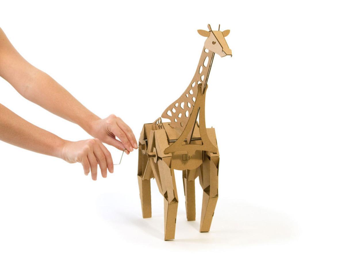 geno the giraffe kinetic creatures id 1101 49 95 adafruit