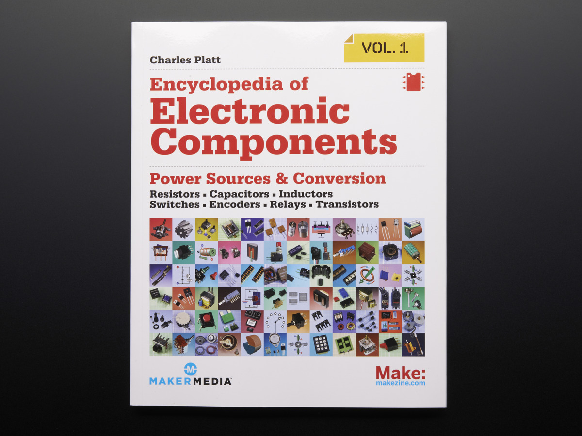 Books Adafruit Industries Unique Fun Diy Electronics And Kits Absolute Beginners Study Guide Chapter 1 Basic Electrical Circuit Encyclopedia Of Electronic Components Volume By Charles Platt 1st Print