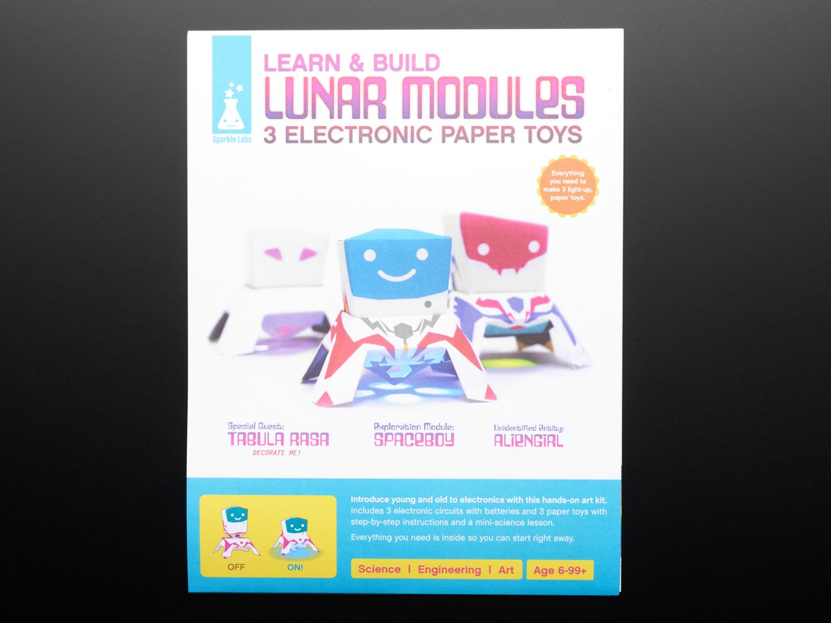 Learn The Art Of Electronics Kit Best Electronic 2018 Snap Circuits Sound Image One Xumpcom Papertronics Lunar Modules Id 1133 14 00 Adafruit Industries