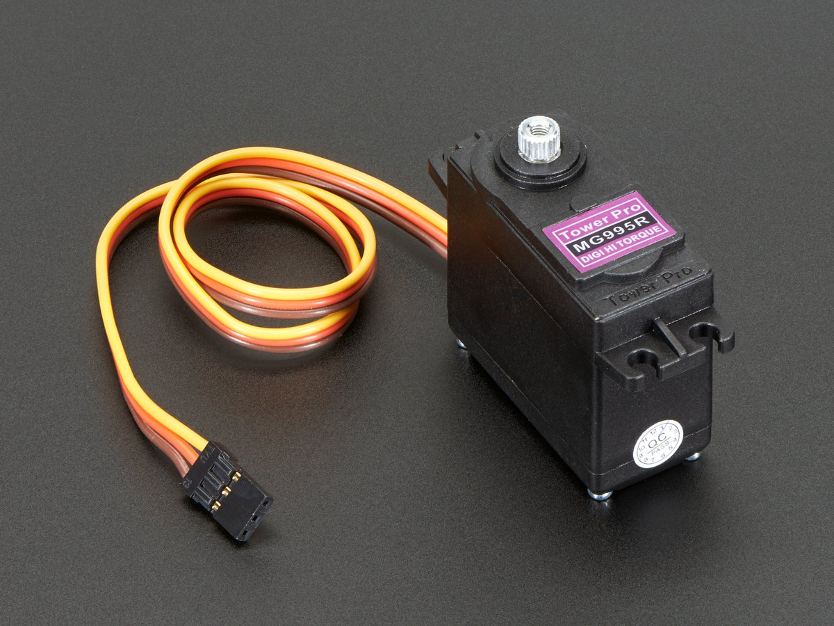 Standard size high torque metal gear servo id 1142 for 100 kg servo motor