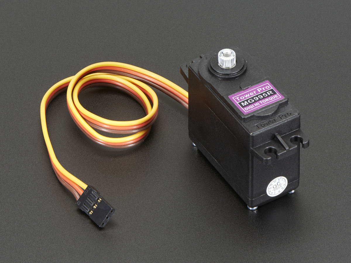 Standard Size High Torque Metal Gear Servo Id 1142 1995 Rc Control Electronics Projects