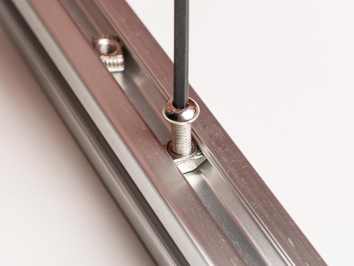 Aluminum Extrusion Slim T Nut For 20x20 M4 Thread Pack