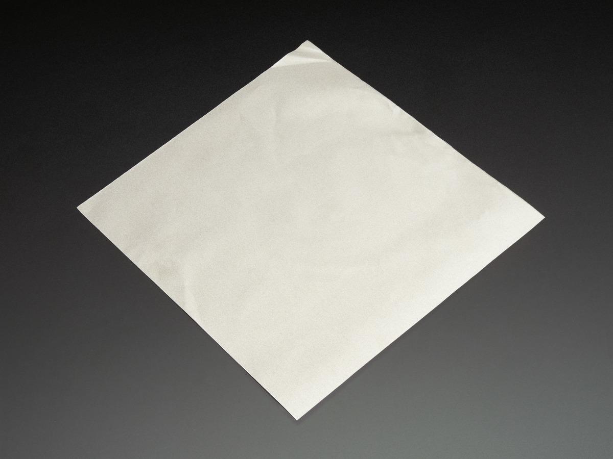 Woven Conductive Fabric - 20cm square ID: 1168 - $4 95