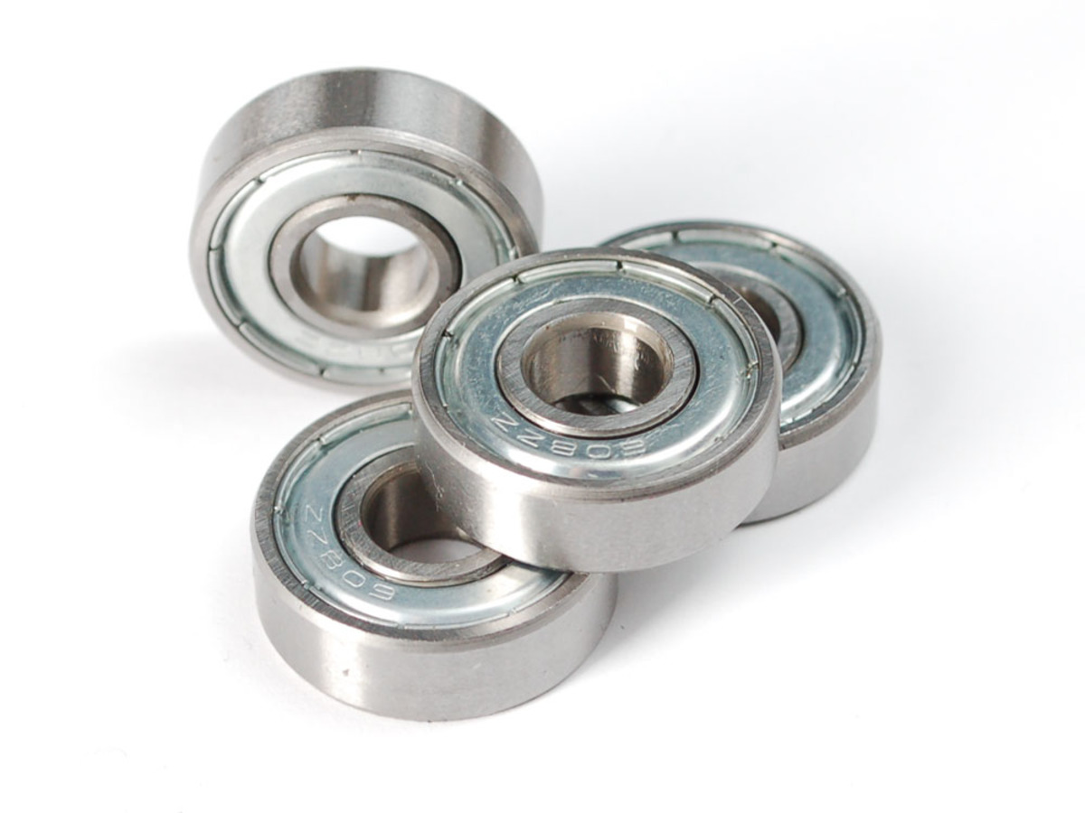 Radial Ball Bearing 608zz Set Of 4 Id 1178 6 95