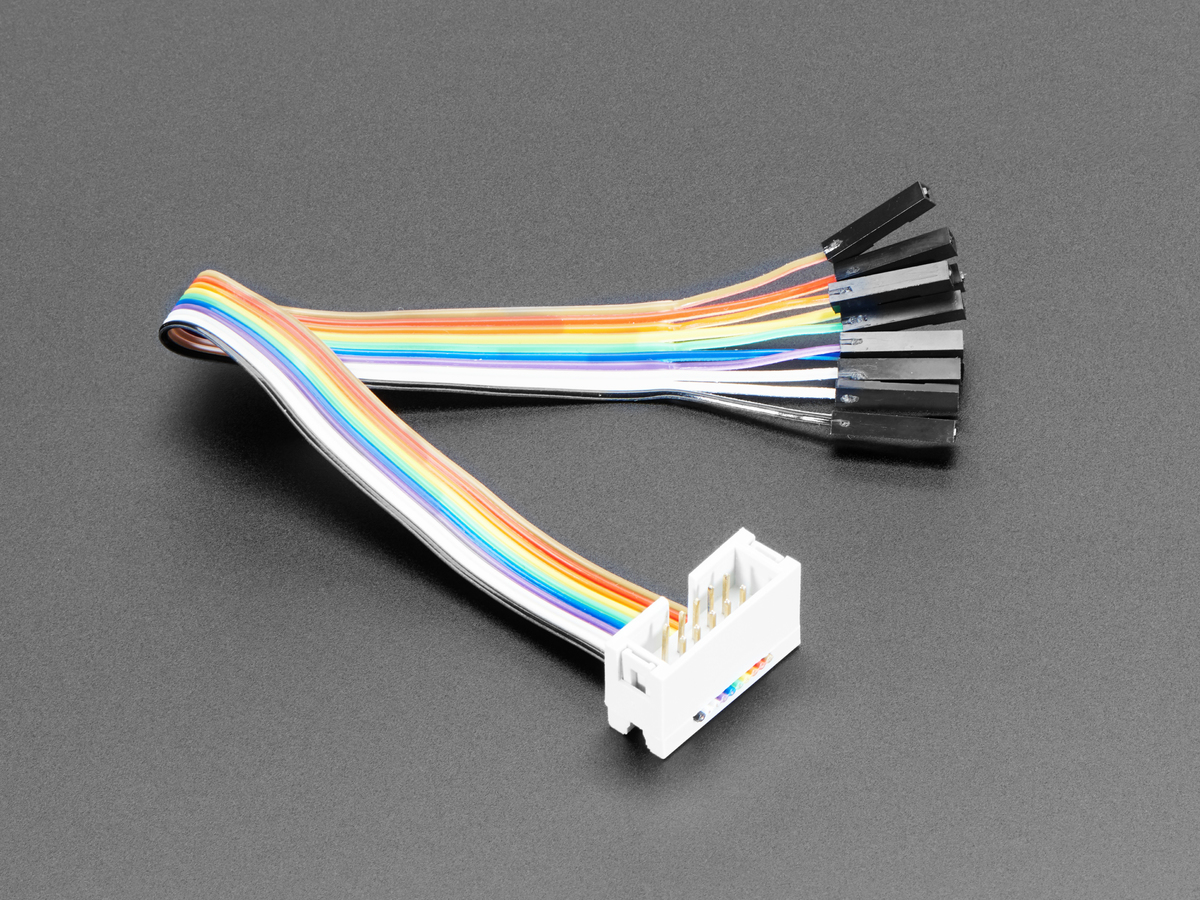 10 Pin Idc Socket Rainbow Breakout Cable Id 1199 3 95