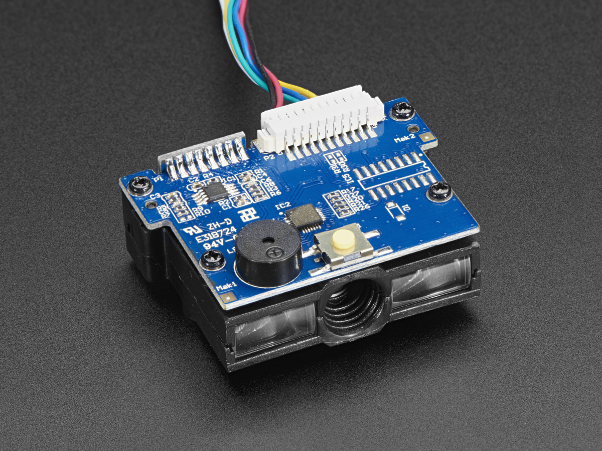 Barcode Reader/Scanner Module - CCD Camera - PS/2 Interface ...