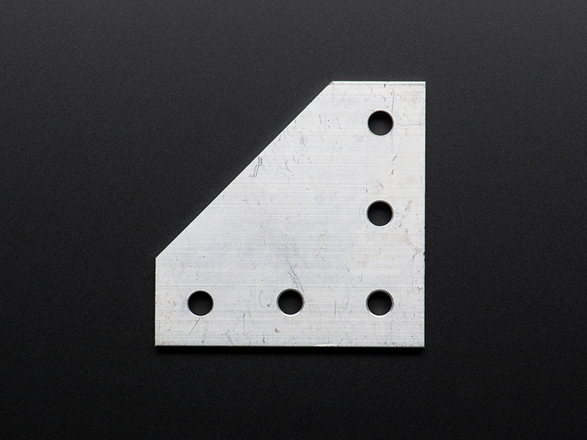 L-Plate for 2020 Aluminum Extrusion