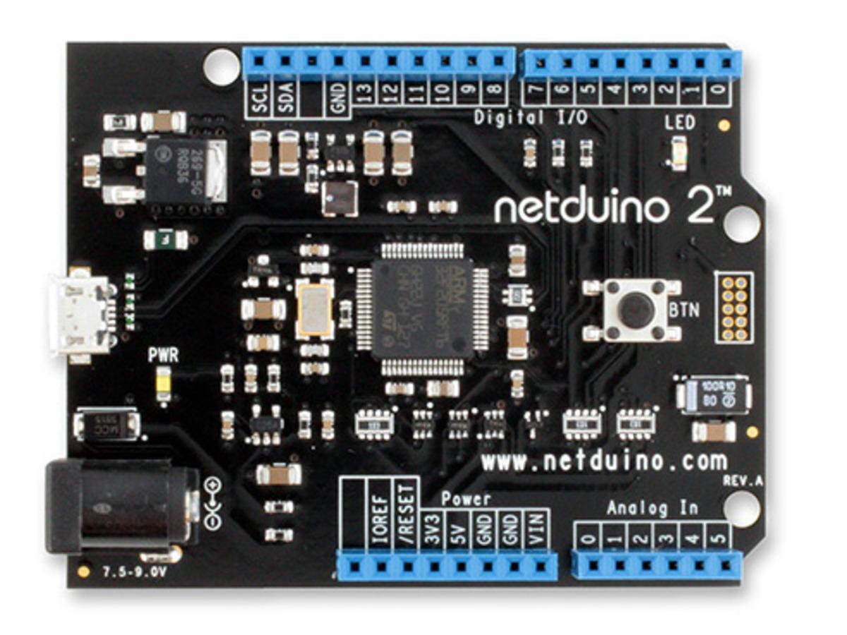 NETduino 2 (.NET-programmable microcontroller) ...