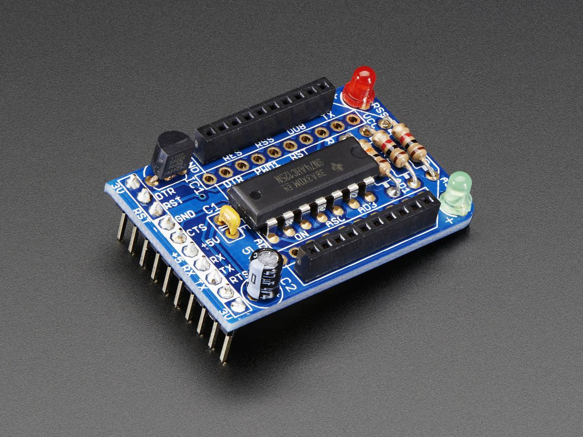 Xbee Adapter Kit V11 Id 126 1000 Adafruit Industries Circuit Diagram Of Zigbee Module