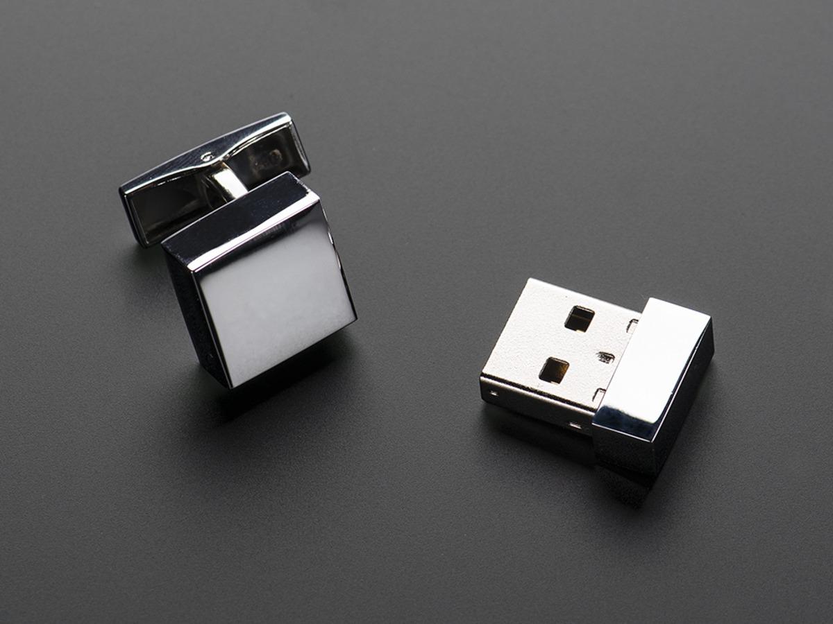 Usb Flashdrive Cufflinks 4 Gb Storage Id 1263 2900 Adafruit Circuit Board