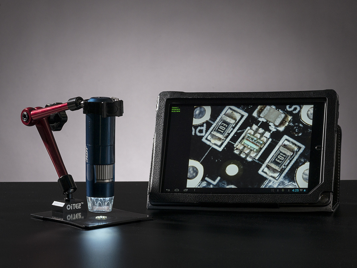 Wifi portable microscope usable with android ipad iphone id