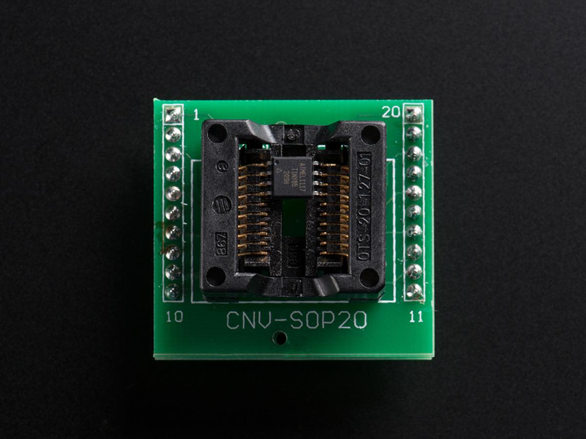 78 20 Pin Zif Socket Smt Test Msp Ts430pw28a Texas Atmel Usb Programmer Circuit Usbasp Atmega8 Prog