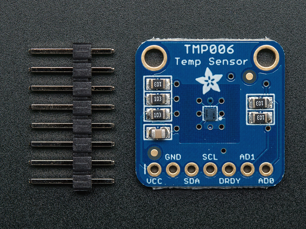 Contact-less Infrared Thermopile Sensor Breakout - TMP006 ...