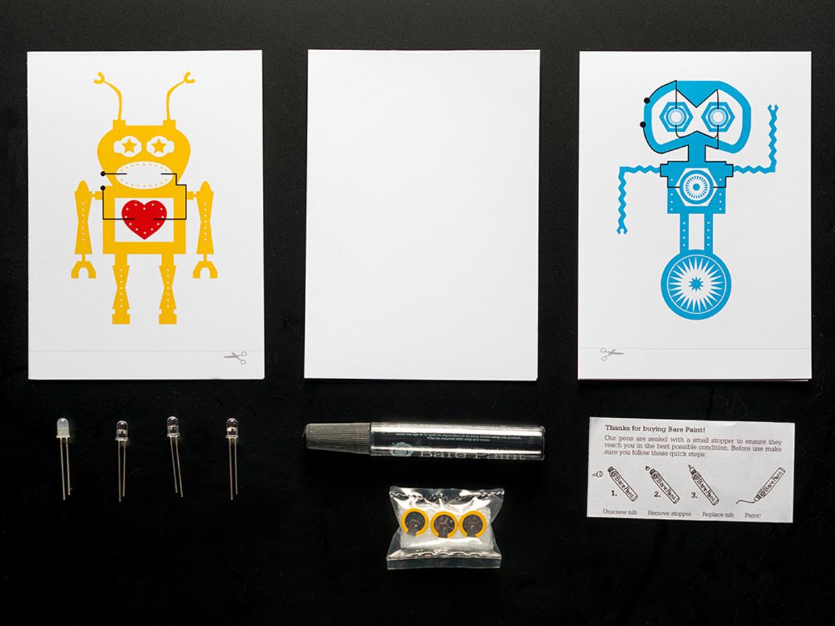 Bare Conductive Greeting Card Kit Id 1307 1995 Adafruit