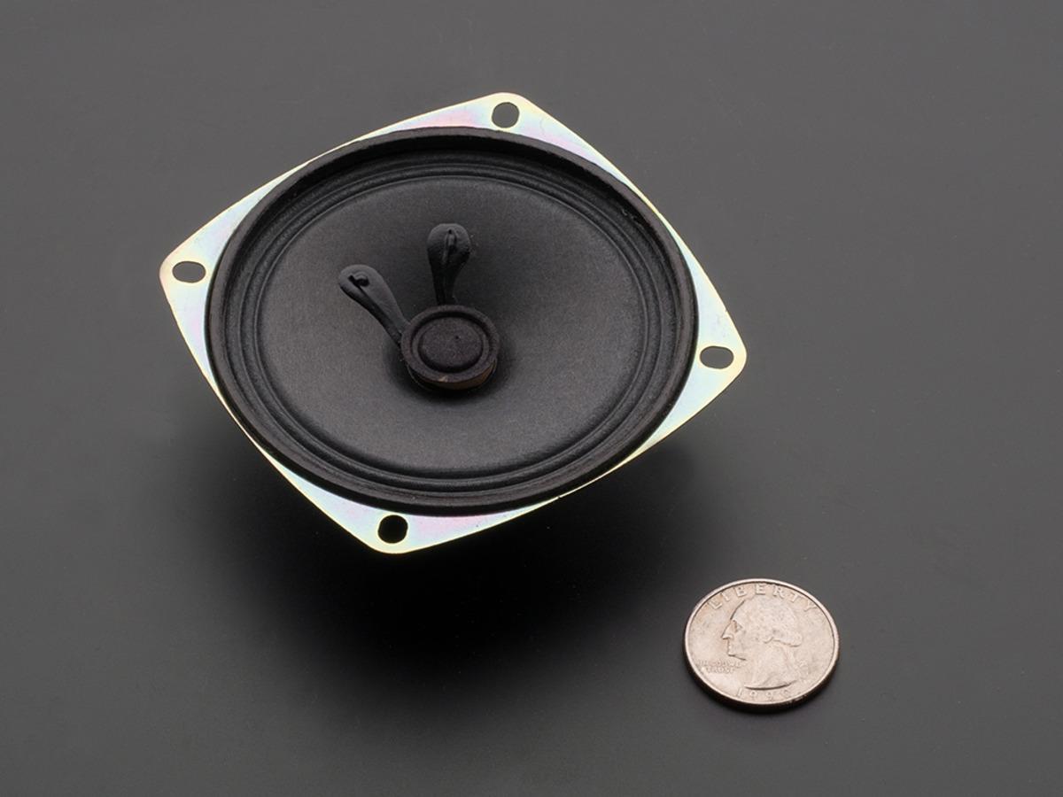 Speaker 3 Diameter 8 Ohm 1 Watt Id 1313 195 Adafruit How To Wire 2 4ohm Subs Ohms