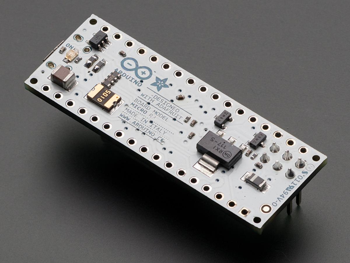 Arduino Micro without Headers - 5V 16MHz ATmega32u4