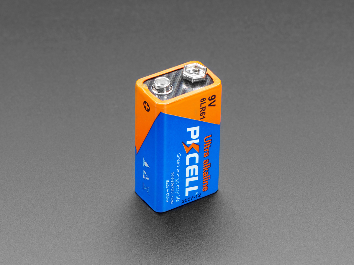 Alkaline 9V Battery ...