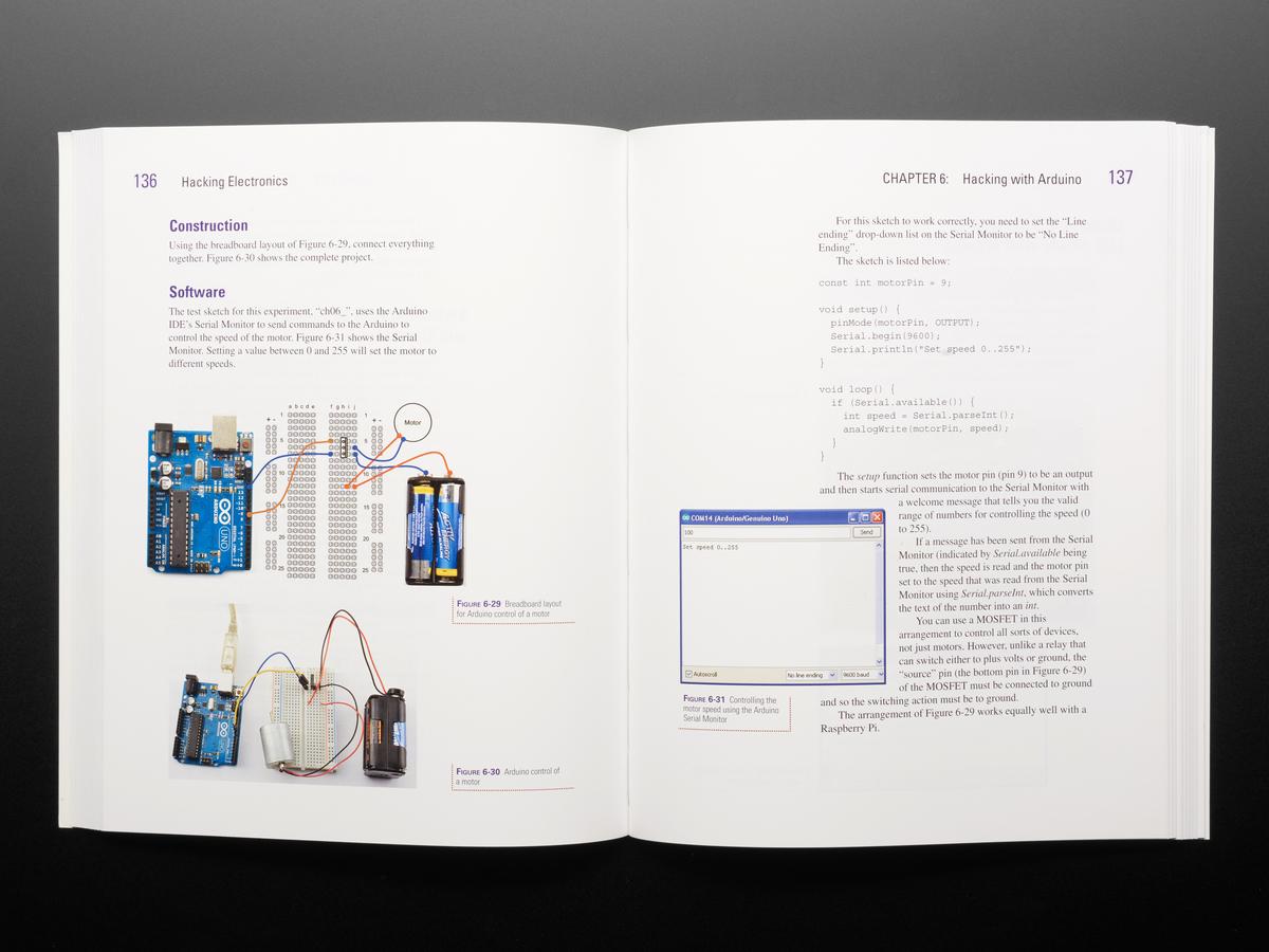 Hacking Electronics by Simon Monk ID: 1339 - $29 95 : Adafruit