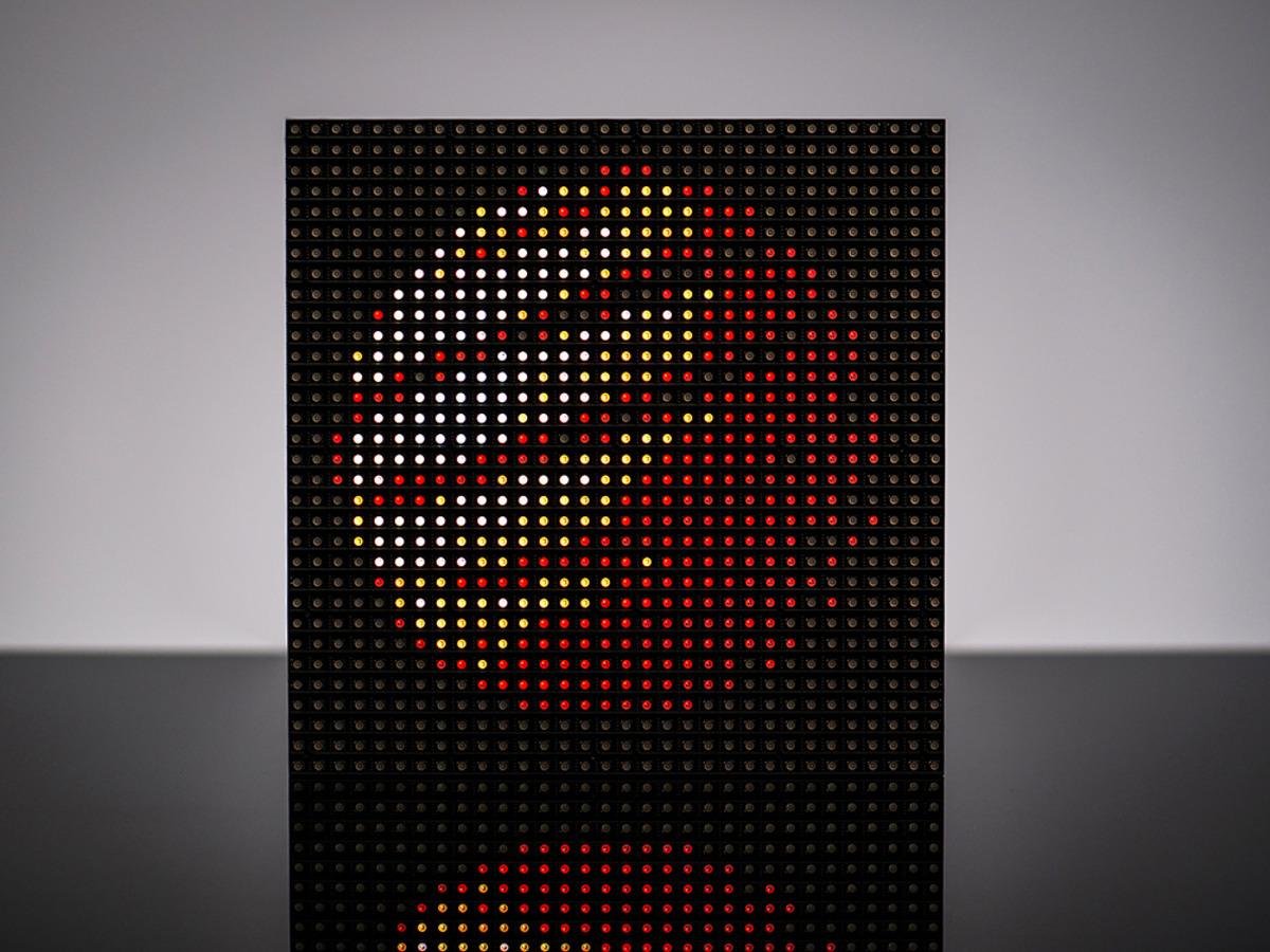 PIXEL Guts Kit - Bluetooth Controlled 32x32 RGB LED Matrix Kit [V2 5