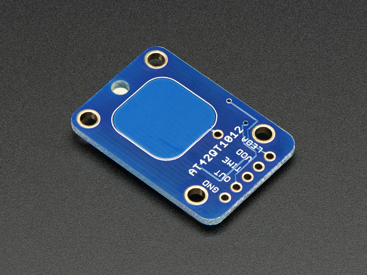 Standalone Momentary Capacitive Touch Sensor Breakout At42qt1010 Circuit Toggle