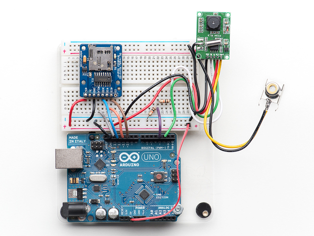 Miniature Ttl Serial Jpeg Camera With Ntsc Video Id 1386 3595 Can Use The Other Arduino Cards This Project For Beginners Good Luck