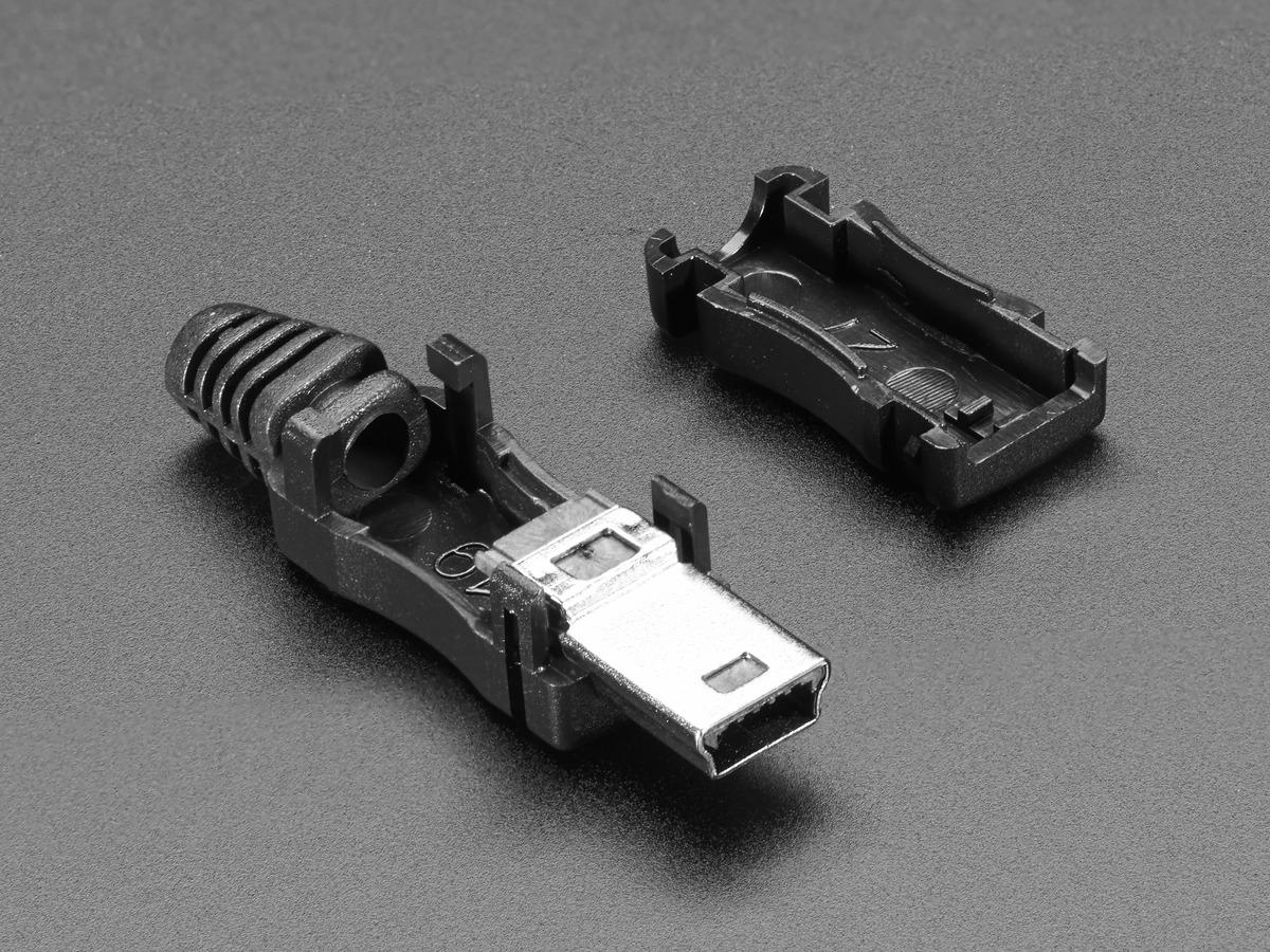 Usb diy connector shell type mini b plug id 1389 095 13895 sciox Image collections