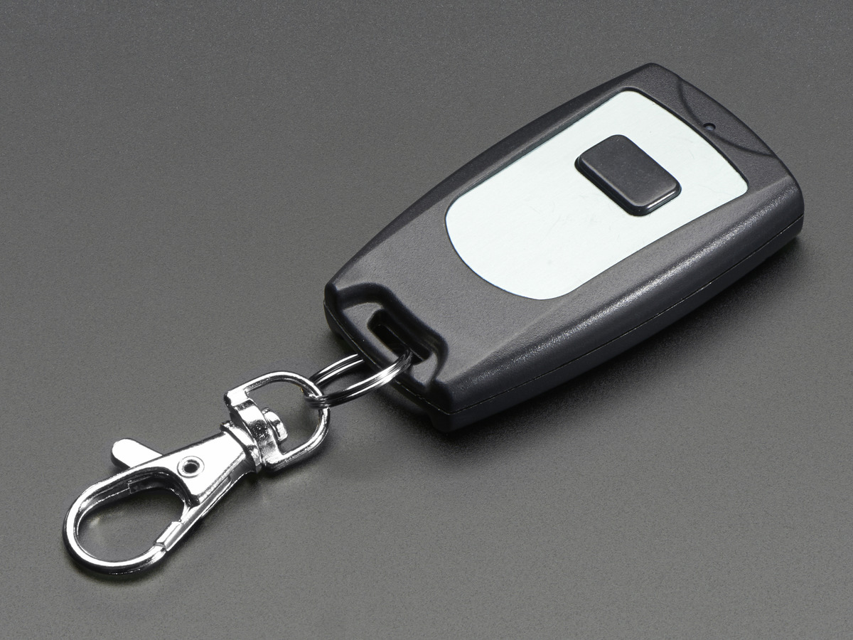 Keyfob Single Button Rf Remote Control 315mhz Id 1392 695 Arduino Ir Additionally Circuit