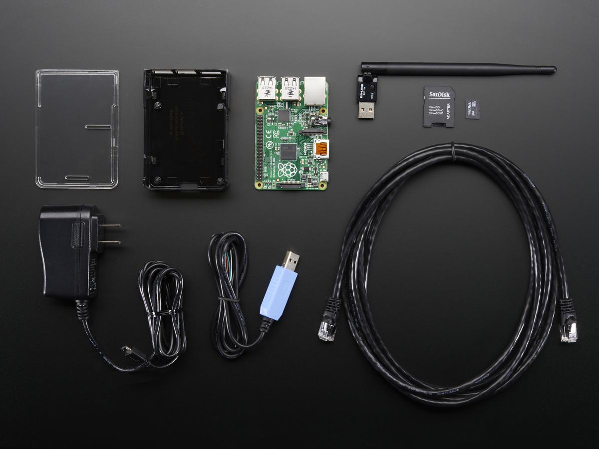 Onion Pi Pack W Large Antenna Make A Raspberry Pi B Tor Proxy Id 1406 74 95 Adafruit Industries Unique Fun Diy Electronics And Kits