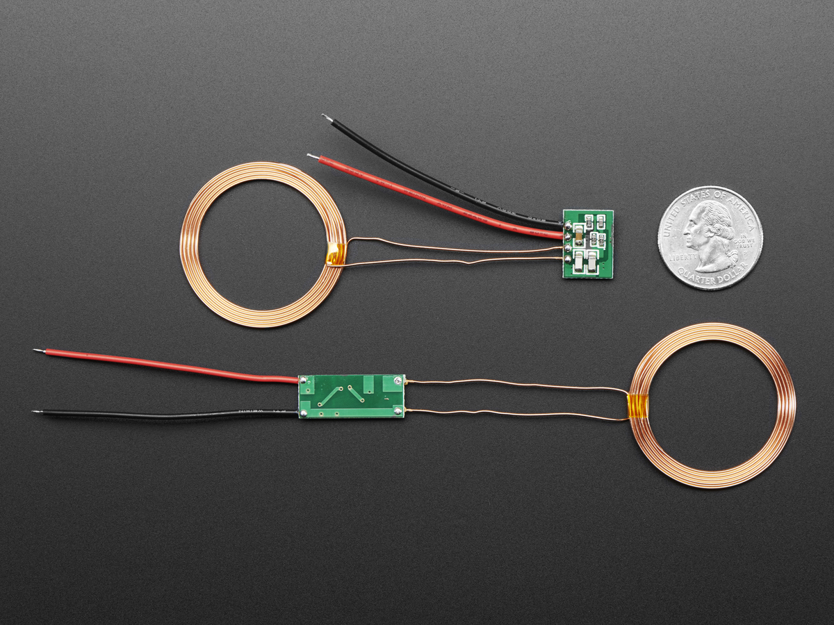 Inductive Charging Set - 5V @ 500mA max ID: 1407 - $9 95 : Adafruit