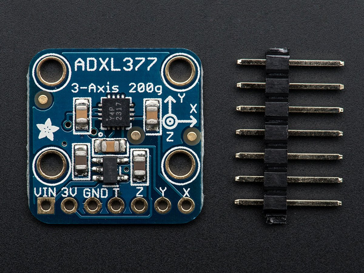 Adxl377 High G Triple Axis Accelerometer 200g Analog