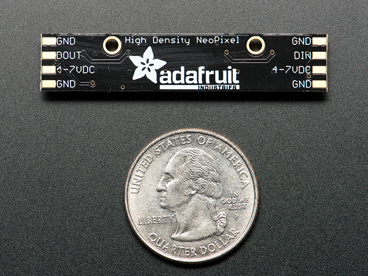 Neopixel Stick 8 X 5050 Rgb Led With Integrated Drivers Id 1426 Wiring Diagram For Dual Light Bars Free Download