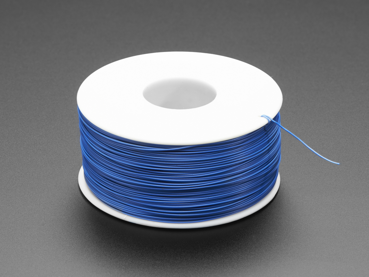 Wire Wrap Thin Prototyping Repair 200m 30awg Blue Id 1446 Electronic Circuit Board With Processor Boards Stock
