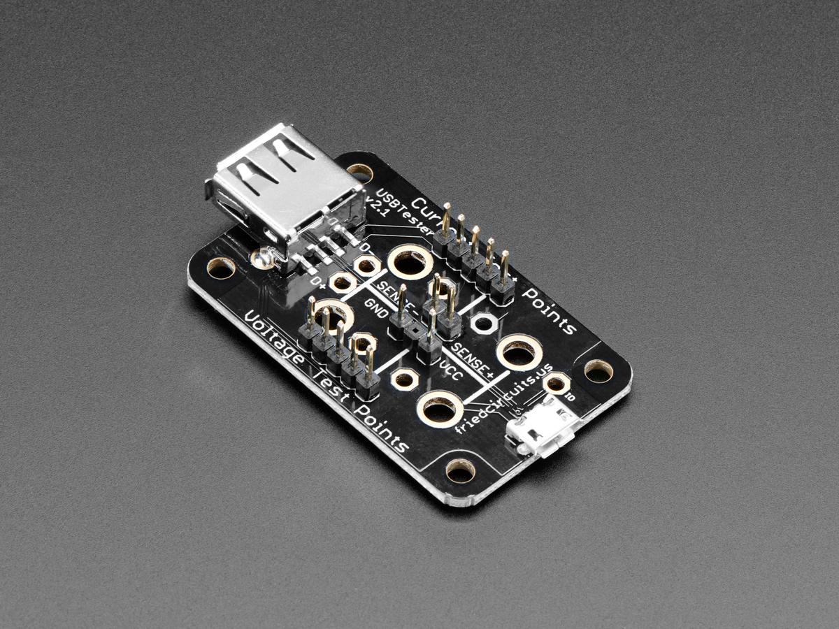 FriedCircuits USB Tester v2.0 ID: 1456 - $11.95 : Adafruit ...