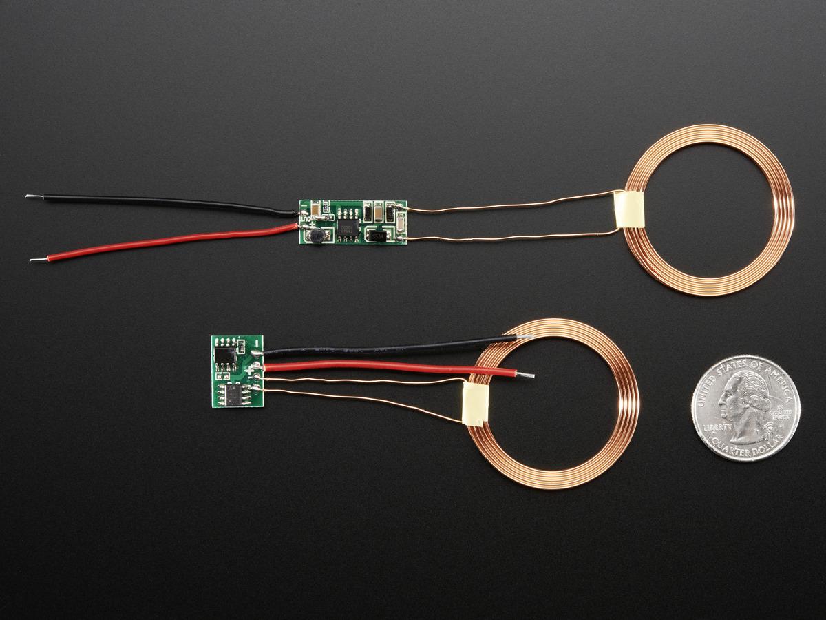 Inductive Charging Set - 3.3V @ 500mA max ID: 1459 - $9.95 ...